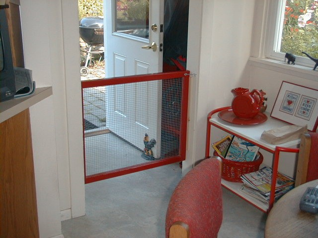 Dog Gate For Front Door Choice Image - Doors Design Ideas